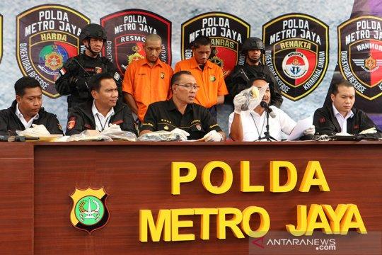 Polda Metro berhasil ringkus 10 maling motor