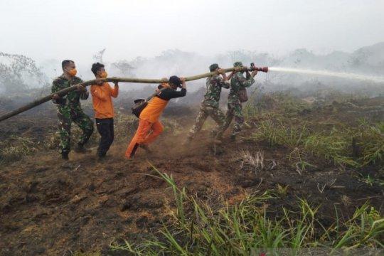 20 Hektare lahan milik warga terbakar di Nagan Raya Aceh