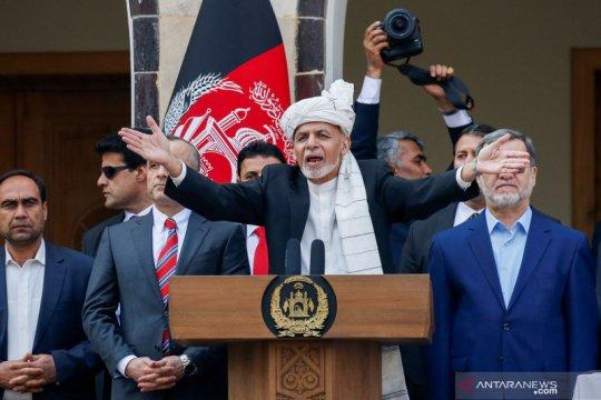 Ashraf Ghani dilantik sebagai Presiden Afghanistan yang baru