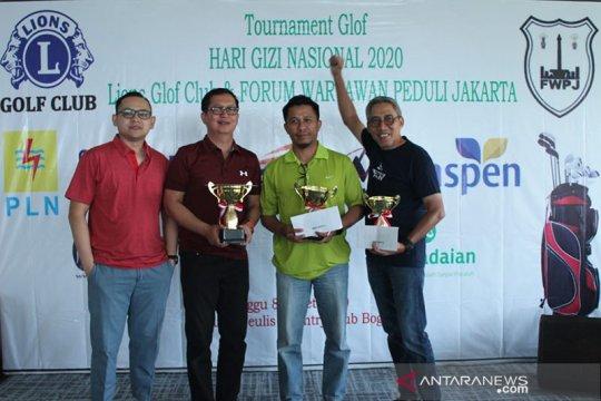 Forum Wartawan Peduli Jakarta dukung atasi anak stunting melalui golf