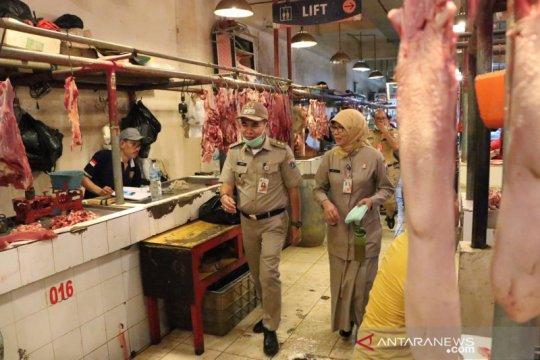 Wakil Wali Kota Jakpus sidak ke pasar tradisional Pasar Senen Blok III