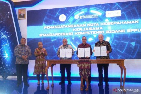 BI, Kemnaker dan BNSP teken standar kompetensi SDM perbankan