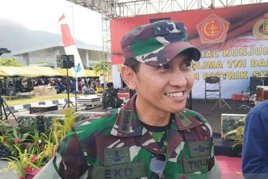 Kapendam XVII Cenderawasih akui KKB tembak Koramil Jila, satu terluka