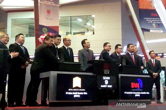 Di tengah IHSG anjlok, 2 perusahaan melantai di Bursa Efek Indonesia