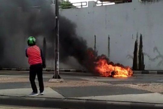 Ini penyebab motor terbakar di Terowongan Pasar Gembrong