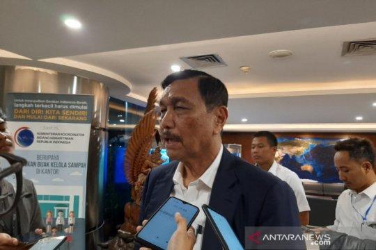 Luhut sanggah kabar Ahok calon kuat Kepala Otorita Ibu Kota
