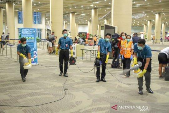 Jalur khusus antisipasi COVID-19 diberlakukan di Bandara Ngurah Rai