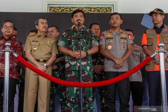 KLHK siagakan satu heli Bell selama siaga darurat Karhutla Riau