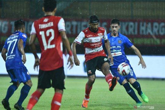 Madura United berbagi poin dengan Persiraja Banda Aceh