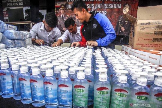 Polres Jayawijaya imbau warga laporkan penimbun pembersih tangan