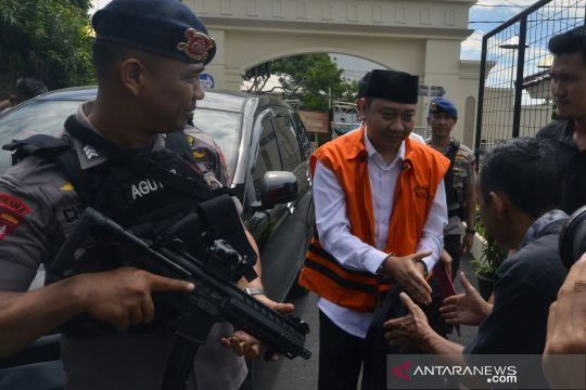 Sidang lanjutan kasus fee proyek infrastruktur Lampung Utara