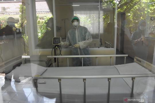 Dalam seminggu RS khusus COVID-19 di Tanjung Duren rawat 32 pasien