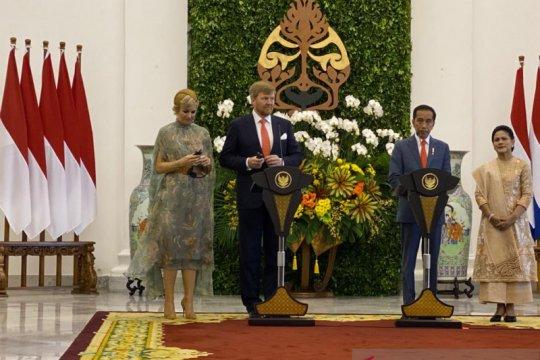 Jokowi ajak Raja-Ratu Belanda kerja sama kendalikan penyakit menular