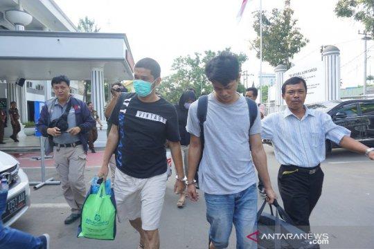 Tiga tersangka pembunuh hakim Jamaluddin diserahkan ke Kejari Medan