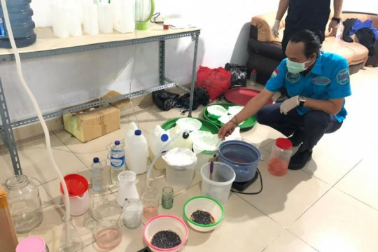 BNN grebek tempat pembuatan sabu dikendalikan napi