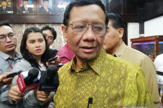 Anies tunda Formula E, Mahfud sebut Jakarta masih aman
