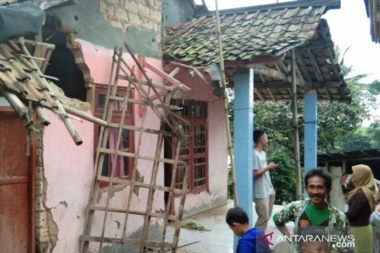Lima kampung di Pamijahan Bogor terdampak gempa Sukabumi