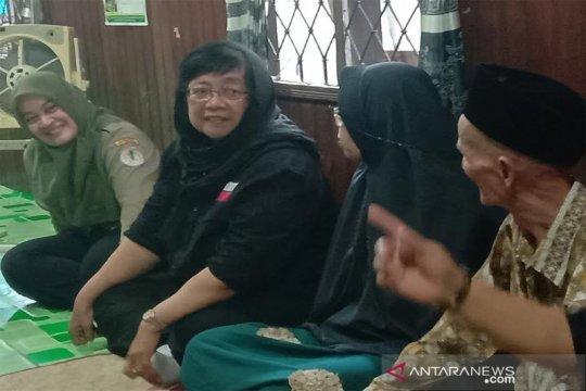 Menteri LHK temui keluarga korban kecelakaan Sebangau di Kalteng