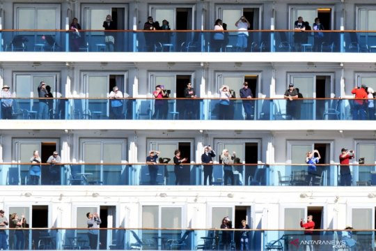 CDC AS imbau semua orang hindari perjalanan kapal pesiar karena COVID