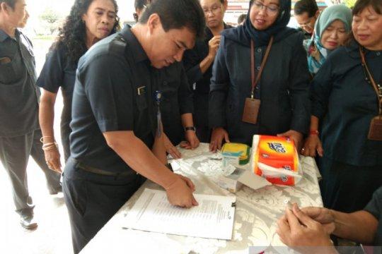 66 pegawai  BKKBN cap jempol darah wujudkan zona bebas korupsi