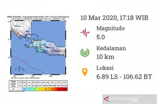 Gempa Sukabumi, guncangannya dirasakan di Bogor