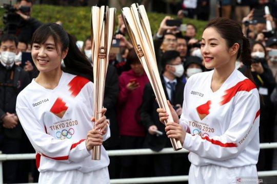 Kirab obor Olimpiade di sejumlah prefektur batal digelar di jalan umum