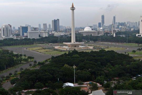 Pagi ini Jakarta cerah berawan