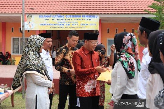 3.649 PTT dan GTT di Bengkulu terima THR