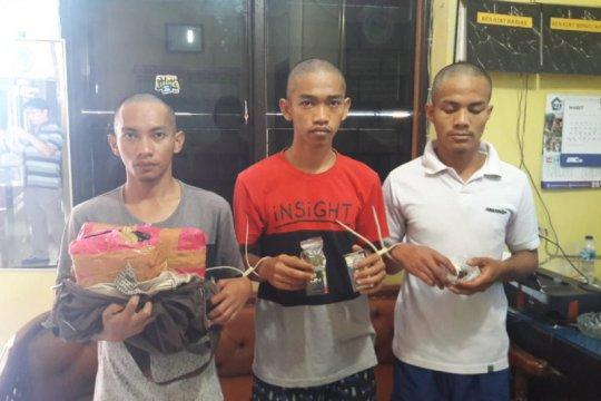 Polres Solok Kota tangkap tiga pelaku penyalahgunaan narkoba