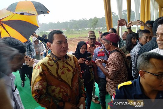 Tommy Soeharto bangun pasar induk modern di Karawang
