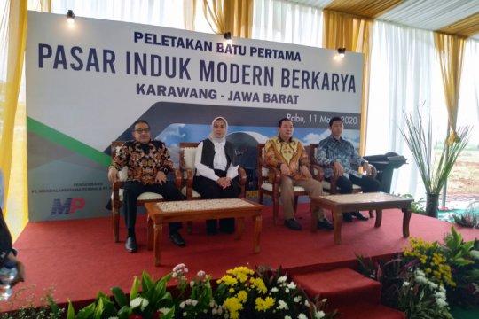 Pedagang Pasar Cibitung akan pindah ke Pasar Induk Modern Cikampek