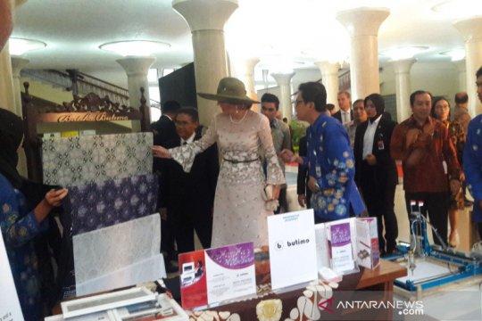 Pameran inovasi di UGM dikunjungu Raja dan Ratu Belanda