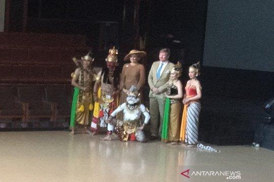 Raja dan Ratu Belanda saksikan Sendratari Ramayana di Prambanan