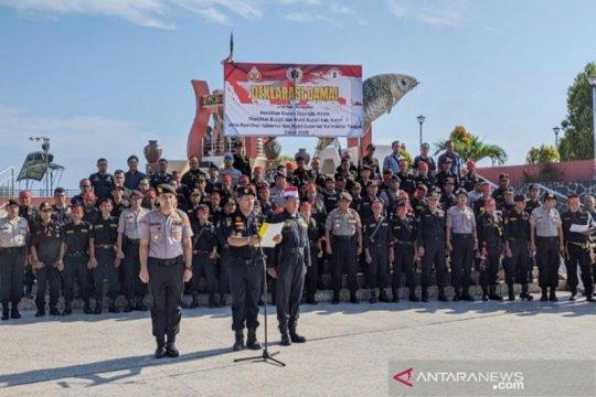 Kotawaringin Timur sepakat ciptakan pesta demokrasi damai pilkada
