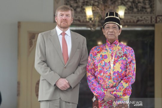 Raja Belanda kunjungi Keraton Yogyakarta