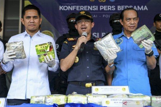 Bea Cukai gagalkan penyelundupan 16,7 kilogram sabu di Aceh Utara