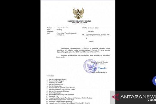 PSI minta Gubernur Anies tarik biaya komitmen Formula E Rp560 miliar
