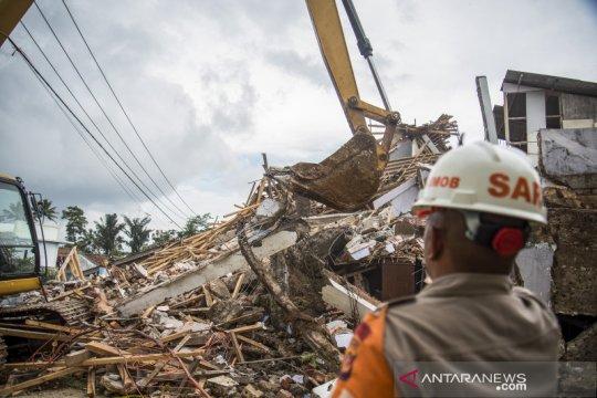 Dampak bencana gempa bumi di Sukabumi