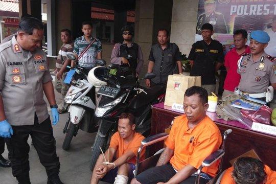 Polisi tembak penjambret ponsel pelajar di Tulungagung
