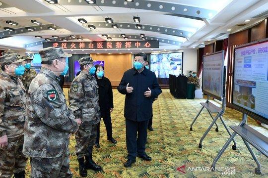 Kasus baru harian corona di China kembali turun, yakni 15 kasus
