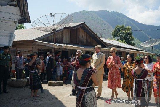 Raja dan Ratu Belanda kunjungi wisata Ecovillage Silimalombu