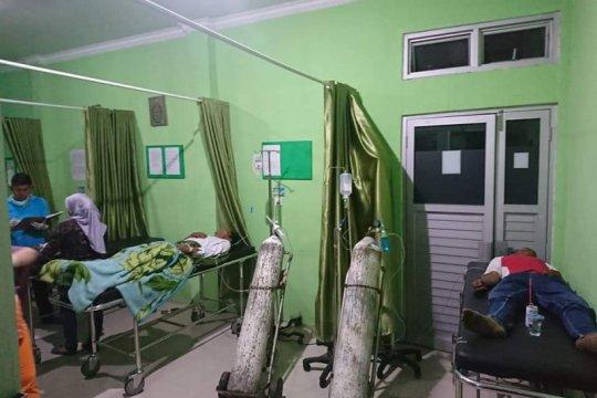 50 orang warga Talamau Pasaman Barat  keracunan ikan tongkol