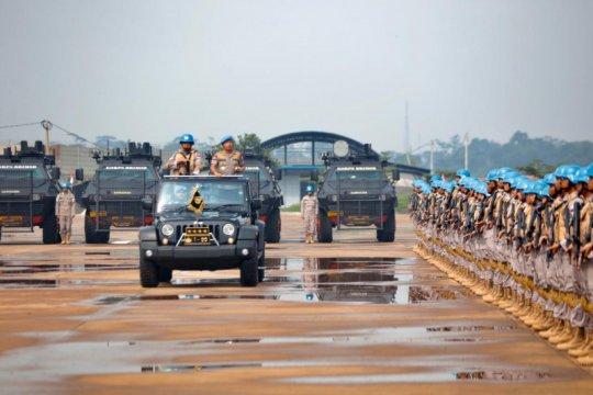 Polri berangkatkan 154 personel pasukan FPU 12 ke Sudan