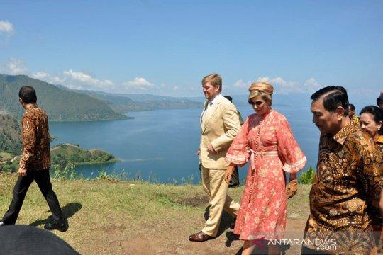 Raja dan Ratu Belanda kunjungi Bukit Singgolom di Kawasan Danau Toba