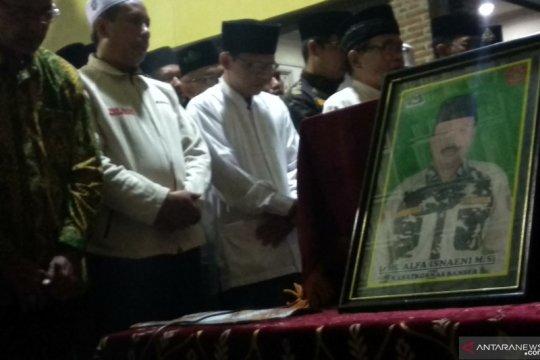 Jenazah Kasatkornas Banser Alfa Isnaeni dimakamkan di Tulungagung