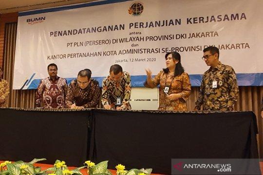 PLN dan BPN DKI Jakarta tandatangani kerjasama pendaftaran aset tanah