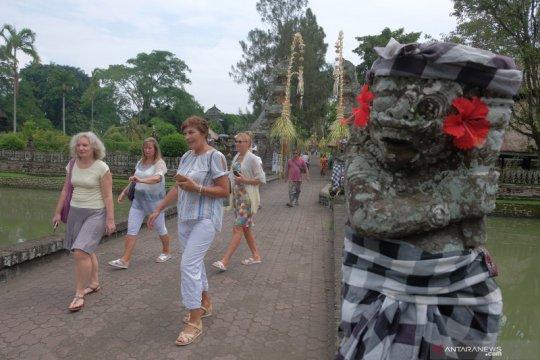 BPS: Kunjungan wisatawan mancanegara anjlok 87,44 persen