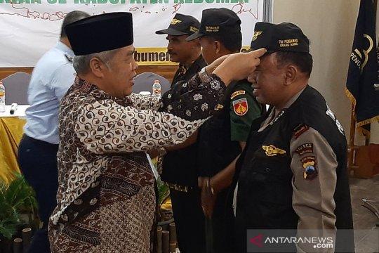 Imigrasi Cilacap kukuhkan Tim Pora Tingkat Kecamatan se-Kebumen