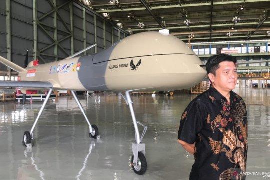 Menristek: Pesawat nirawak Elang Hitam mulai terbang Januari 2021