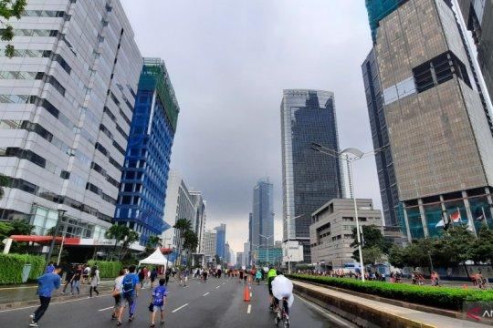 Cuaca wilayah Jakarta diperkirakan cerah berawan di akhir pekan